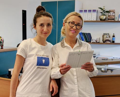 Wir freuen uns auf Ihren Besuch. Zahnärztin Dr. medic. stom. (R) Elena Pasternak in der Arlbergstraße in Stuttgart Untertürkheim.