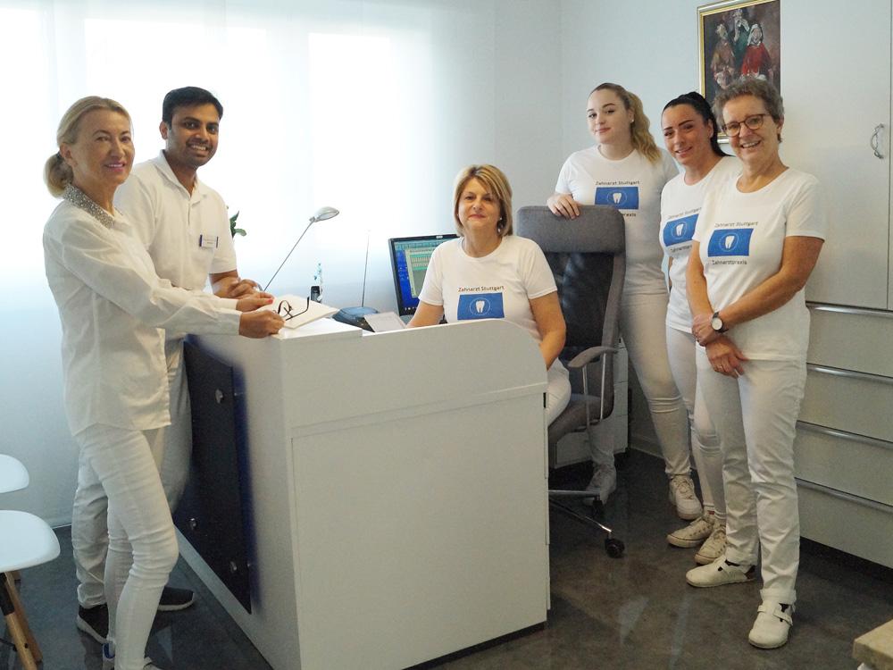Unser Zahnarzt-Team in Stuttgart am Römerkastell