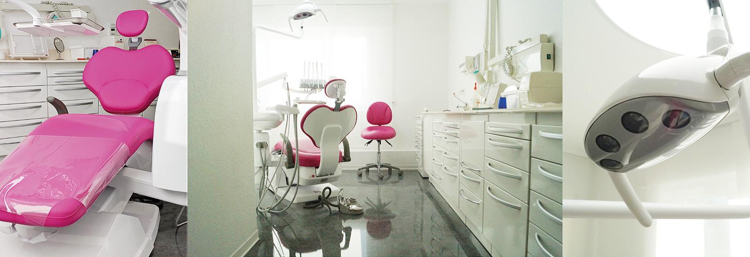 Zahnarzt Stuttgart: Die Zahnarztpraxis von Dr. medic. stom. (R) Elena Pasternak am Römerkastell im Hallschlag