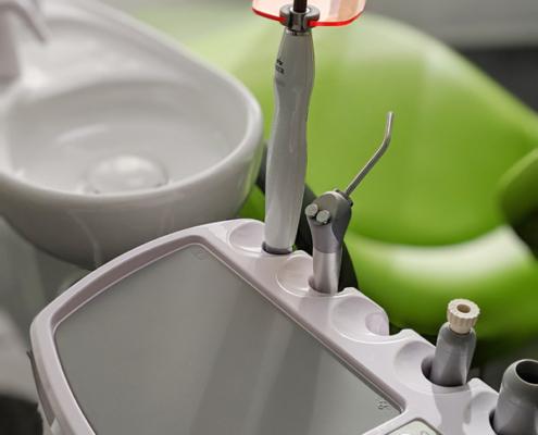 Die moderne und neu ausgestattete Zahnarztpraxis am Römerkastell