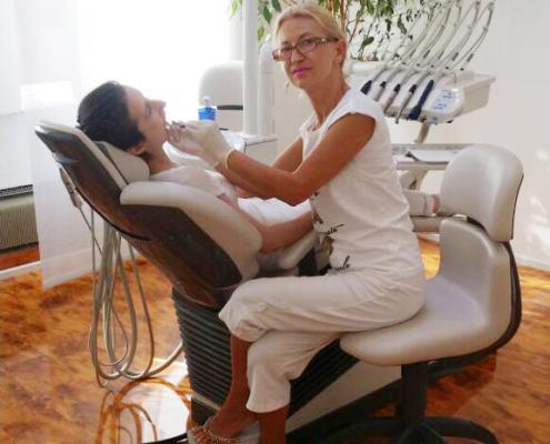 Zahnbehandlung in der Arlbergstraße